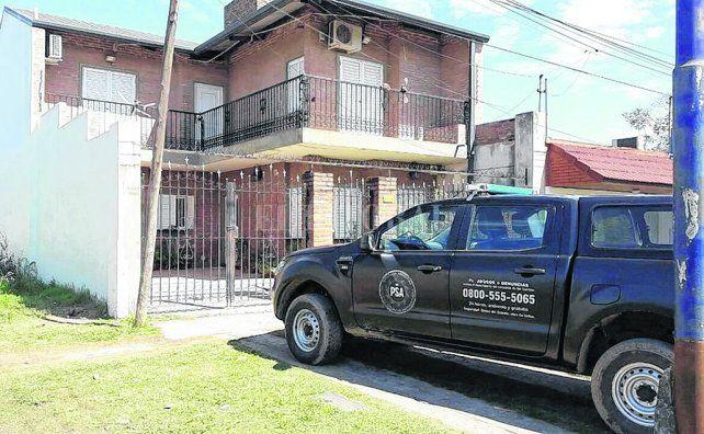 en la casa. Rafael Grau fue apresado en su vivienda por agentes de la Policía de Seguridad Aeroportuaria.