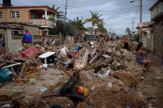 Irma fue inclemente con la capital cubana.