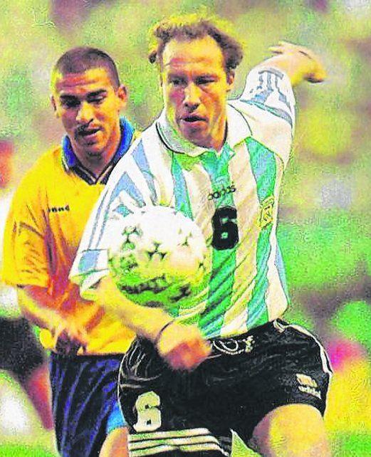 Boquita. Sensini fue titular en el 1 a 1 ante Colombia en la Bombonera.