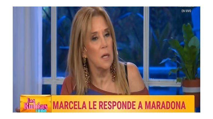 Maradona hizo de su vida un vómito, dijo Marcela Tynare para defender a Mirtha