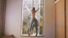 el video mas hot de natalia oreiro que se desnuda con un striptease inolvidable
