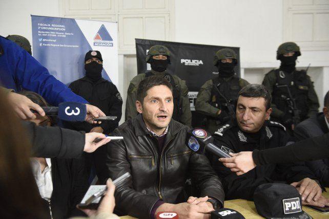 Pullaro habló sobre las detenciones producidas ayer.