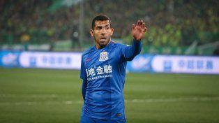 Tevez fue apartado por el nuevo entrenador del Shanghai por estar excedido de peso