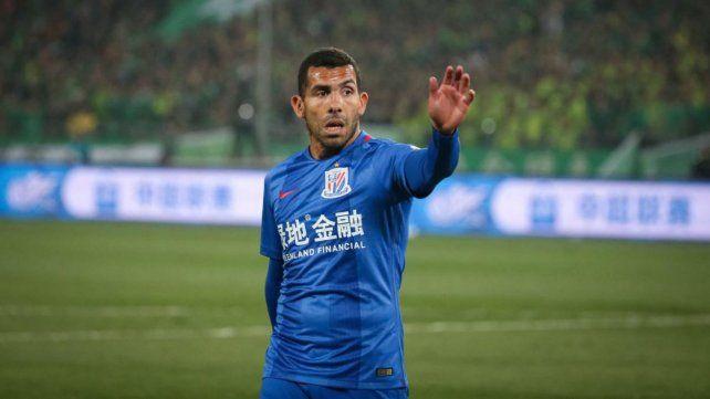 Tevez fue apartado por el nuevo entrenador del Shanghai