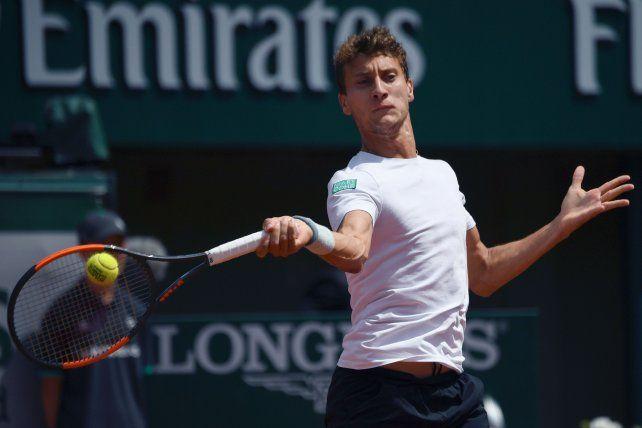 El tenista rosarino Olivo dejó parado a un rival con una muestra cabal de su talento