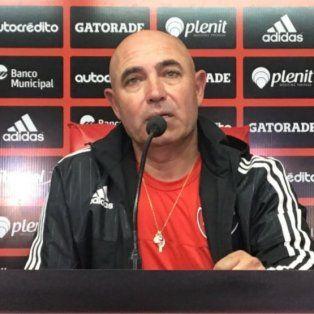 Llop se mostró optimista en conferencia de prensa.