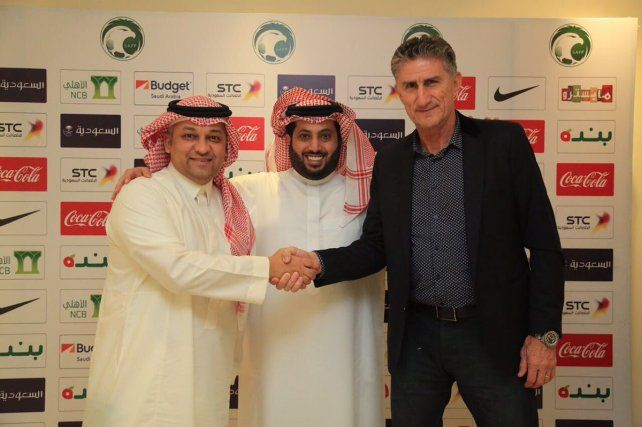 Va al Mundial. El Patón Bauza será el DT de Arabia Saudita en el Mundial de Rusia 2018.