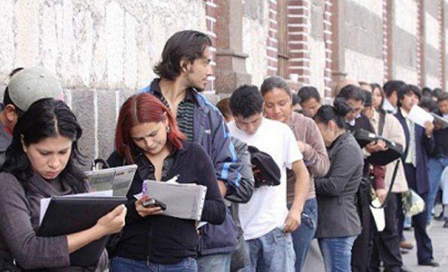 crisis laboral. La tasa de desocupación en la región bajó del 11