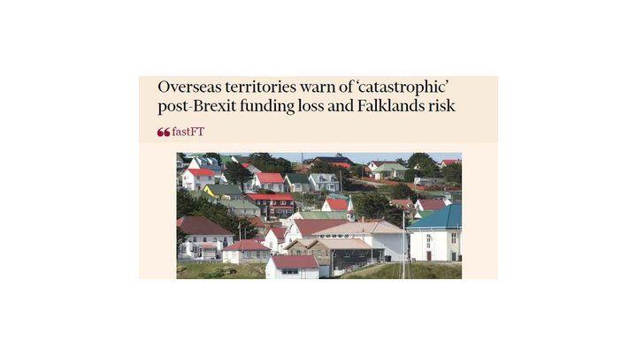 título. El artículo aparecido en el diario Financial Times ayer.