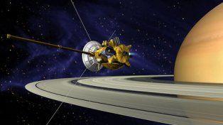 La etapa final de pasar entre el planeta y sus anillos Cassini la desarrolló desde abril a esta parte.
