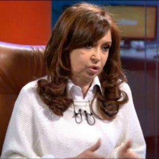 Defensa. Cristina criticó el rol de la Justicia en las causas en su contra.