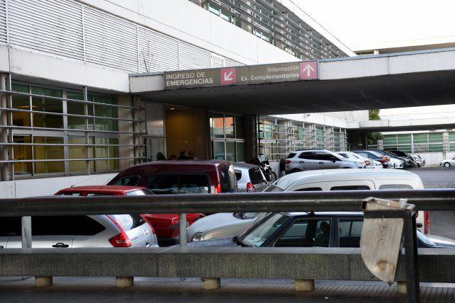 La víctima fue atendida en el Hospital de Emergencias.