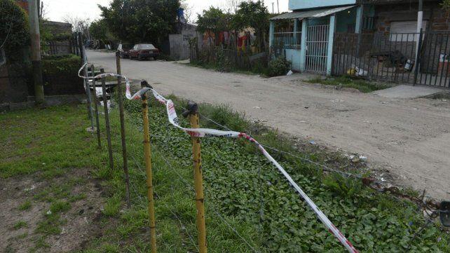 El lugar donde ocurrió el tiroteo donde fue herida una niña.