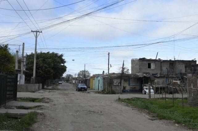 La zona donde se produjo el tiroteo en el que resultó herida una niña de 7 años.