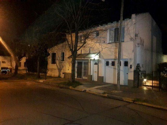 Vivienda. La casa donde los delincuentes perpetraron el asalto.