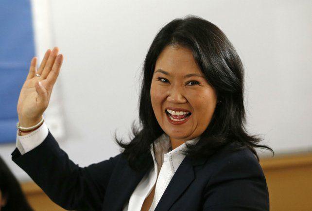 Peligrosa. Keiko perdió en el ballottage