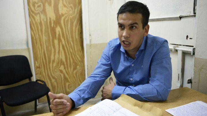 Ramón Machuca anunció que llegado el momento presentará las denuncias contra el juez Vienna.