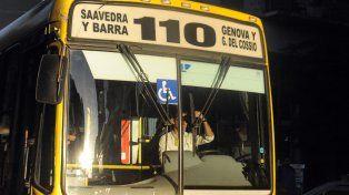 El asalto ocurrió en un ómnibus de la línea 110.