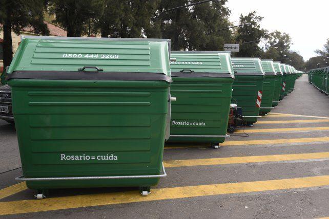 Los contenedores estaban ubicados en Rivarola y Circunvalación.