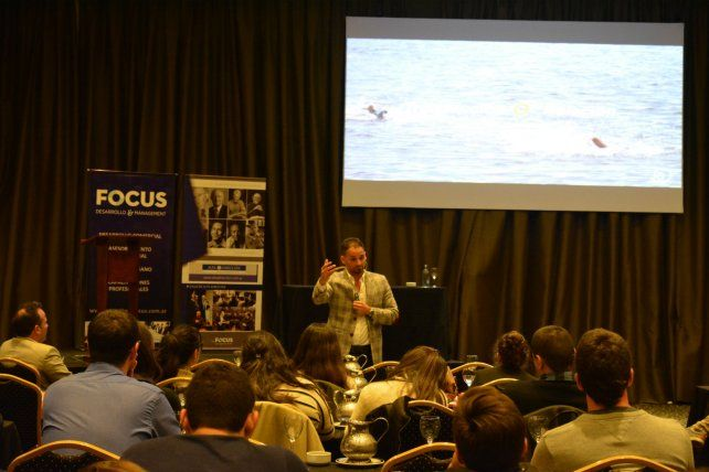 En Rosario. Focus organizó la charla.