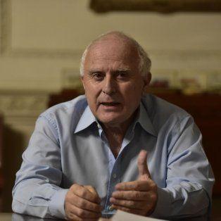 Gobernador. Lifschitz sostiene que Macri y Cristina se retroalimentan.