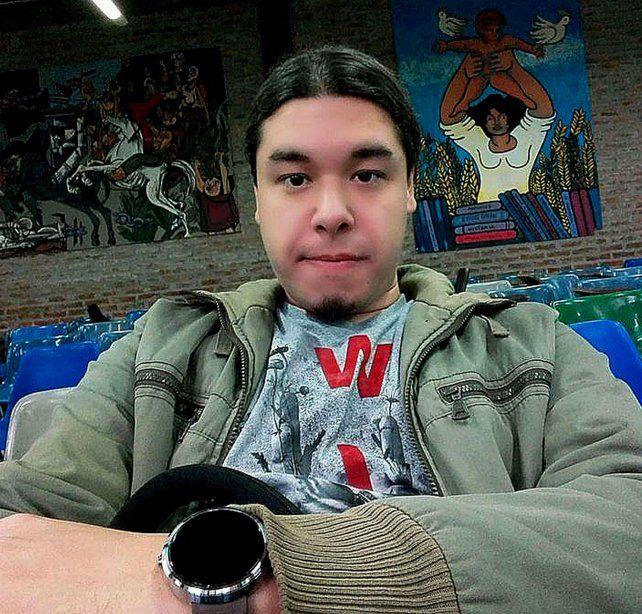 Víctima. Miguel Angel Paccor estudiaba ingeniería electrónica.