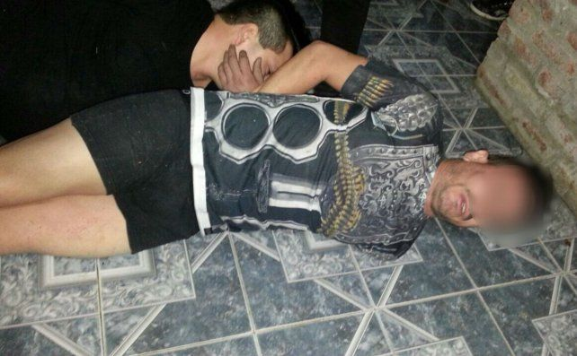 Detenidos. Los dos delincuentes tenían antecedentes por robo.