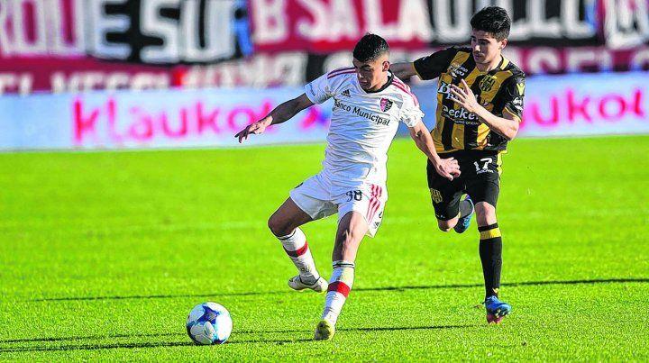 Rivero le dio la cuota de fútbol necesaria a Newells