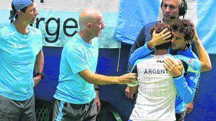 argentina perdio el repechaje, descendio y paso de la gloria al barro en la copa davis