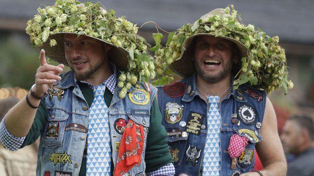 Múnich celebra el Oktoberfest