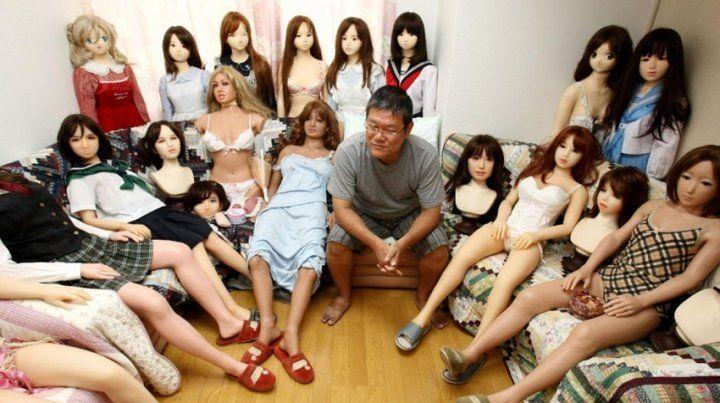 La policía de China pinchó el negocio de alquiler de las muñecas inflables