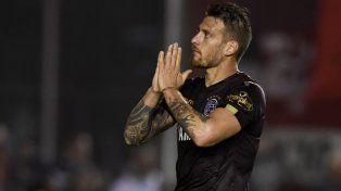 Denis ya marcó el gol de Lanús ante Independiente.