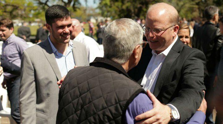E ministro Contigiani participó de una visita al predio de la ex Fiat.