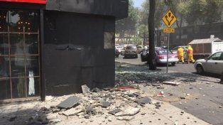 Un terremoto de 7.1 grados en la escala Richter sacudió la capital de México