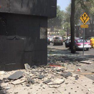 un terremoto de 7.1 grados en la escala richter sacudio la capital de mexico