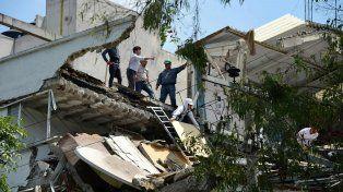 Las impactantes imágenes que dejó el terremoto que sacudió a México