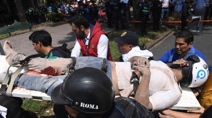 El terremoto de México sembró destrucción y los muertos ya superan el centenar