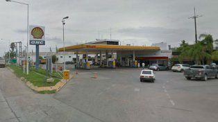 La estación de servicios de ruta 33 en jurisdicción de Pérez.