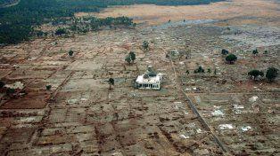 La provincia indonesia de Aceh fue arrasada por el terremoto seguido de tsunami de 2004.