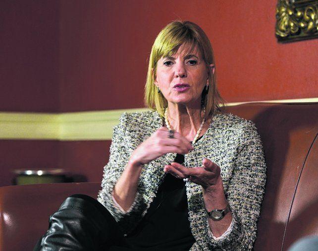 DESAZÓN. La candidata repudió dichos del ministro Dujovne.