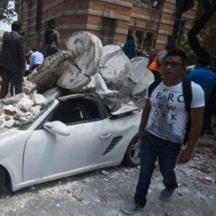 El movimiento telúrico pasó y la gente está en las calles. El alcalde de la ciudad de México hablaba de más de 30 fallecidos allí.