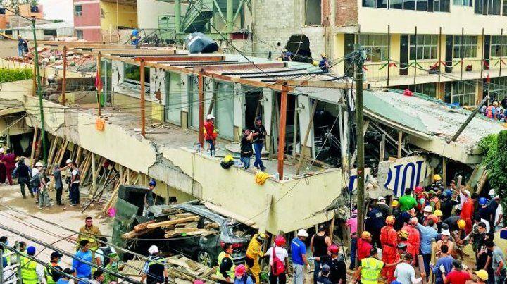 Había pasado el simulacro, nos acomodamos y entonces el terremoto ocurrió de verdad