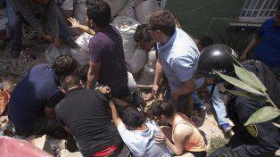 Las dramáticas imágenes del terremoto que castigó a México