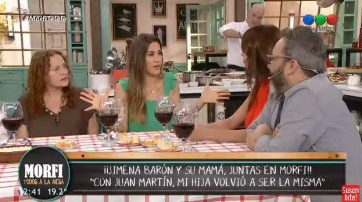 Jimena Barón frenó a Zaira Nara cuando le preguntó sobre el rendimiento sexual de Del Potro