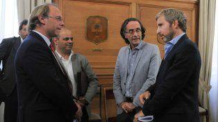 El ministro de Economía Gonzalo Saglione espera que se cumpla la promesa del gobierno nacional y pague la deuda que tiene con Santa Fe.