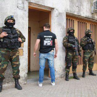 Uno de los lugares allanados por la Policía de Investigaciones (PDI).