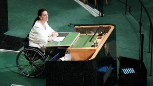 disertante. Michetti fue a la ONU en representación de Macri y trazó en su discurso los ejes con los cuales trabaja el gobierno.