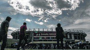 El Azteca. Se dijo que el sismo había agrietado el estadio. Luego se aclaró que habían circulado fotos de juntas constructivas.