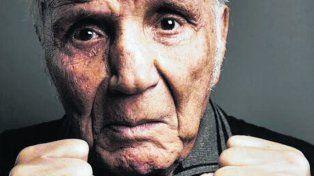 Toro Salvaje. Una de las últimas fotos de LaMotta, ex campeón mundial mediano.
