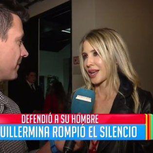 guillermina valdes intento explicar el mensaje en twitter que le trajo problemas a tinelli